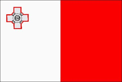 Malta Flag in EU