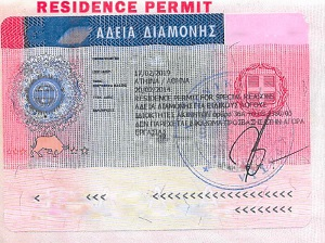 Residence Permit - Greece