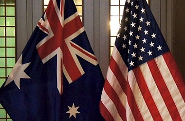 US and Australia Flags